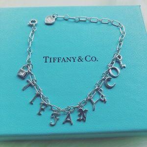 Tiffany & Co. Love Notes Bracelet w/Charms